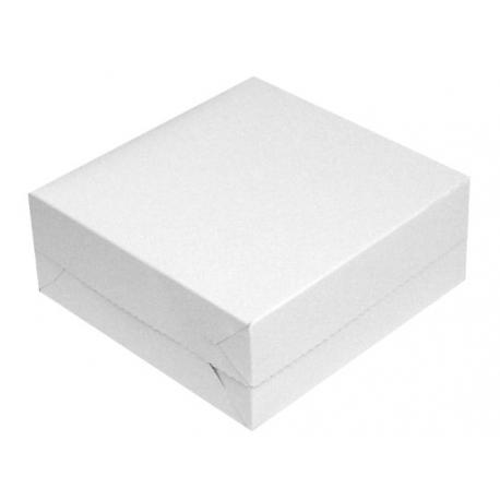 Tortová krabica28x28x10cm biela