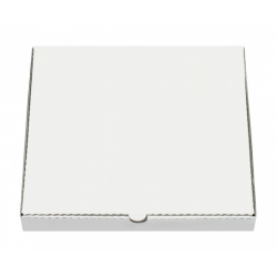 Pizza Krabica 32x32x3cm biely