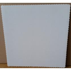Podnos na TORTU 350x350X0,3 mm biely