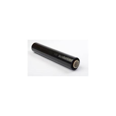 Fólia stretch ručná /20my šírka 500mm /čierna