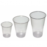 Plastové poháre 0,15l