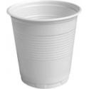 Plastové poháre biele 0,08l