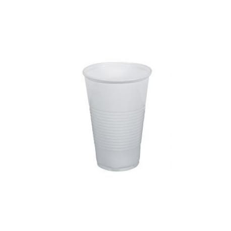 Plastové poháre biele 0,2l