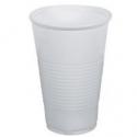 Plastové poháre biele 0,4l