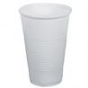 Plastové poháre biele 0,5l