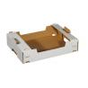 Krabica biela 390x295x85