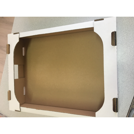 Zákusková krabica -výsekový tvar-skladačka