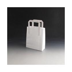 Papierová taška-Biela 180x80x220 mm