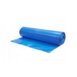 Vrecia na odpadky modré 70x110cm, 120 l, Typ 40 [25 ks]