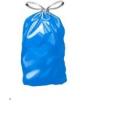 VRECIA na odpad zaťahovacie 60L ,10ks rolka modré, 60x70cm,