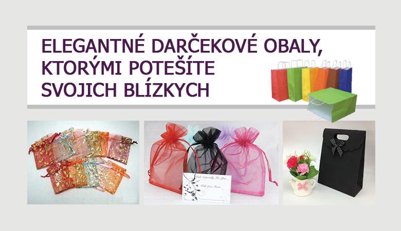 Elegantné darčekové obaly, ktorými potešíte svojich blízkych